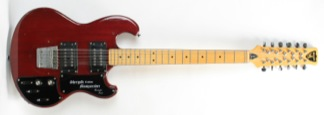 1979 Shergold Custom Masquerader twelve string guitar