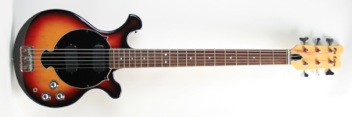 1973 Ned Callan Cody six string bass (ex-John Entwistle)