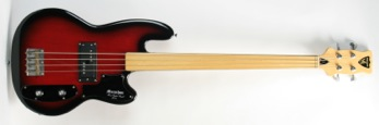 2000 Shergold Marathon fretless four string bass